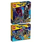 The Lego Batman Movie 2er Set 70909 70923 Batcave-Einbruch + Bat-Spaceshuttle