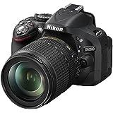 Nikon D5200 + AF-S DX 18-140 VR - Cámara digital (24.1 MP, SLR Kit, CMOS, 18 - 140 mm, 5.6, 3.5) Negro