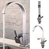 AllRight Einhand Spültischarmatur Küchenarmatur Küche Wasserhahn Armatur Mischbatterie