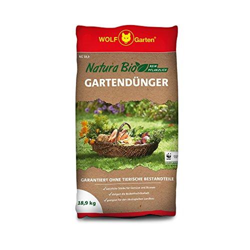 WOLF-Garten - NG 18,9 Natura Bio Gartendünger 18,9 kg für 280 m²