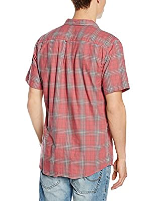 New Look Men's Washed Check Casual Shirt