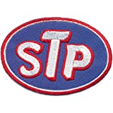 STP Motorsport Rennsport Ol oil lubricants iron sew on patches Logo Vest Jacket Hat Hoodie Backpack Iron On patches by iPatch