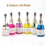 JRing 24Pack Burbujas de Colores de la Boda - Burbujas de Jabón Celebración de la Fiesta de Boda...
