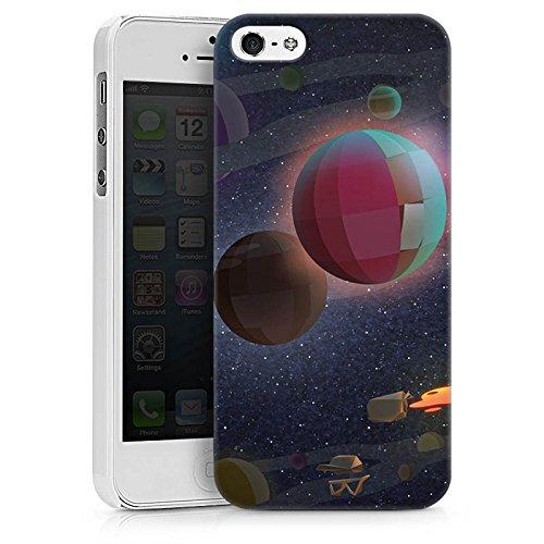 Apple iPhone X Silikon Hülle Case Schutzhülle Rocket Beans TV Bohnen Weltraum Hard Case weiß