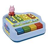 Reig/Peppapig-2326-Percussion-Xylophon 4Noten mit Figur-Peppa Pig
