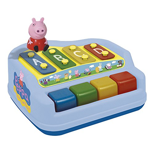 Reig/peppapig – 2326 – Percussion – Xylophon 4 Noten mit Figur – Peppa Pig