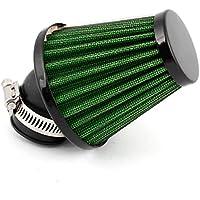 sourcingmap® Motore Morsetto Regolabile Aspirazione Aria Filtro Silenziatore Strumento Di Pulizia Verde