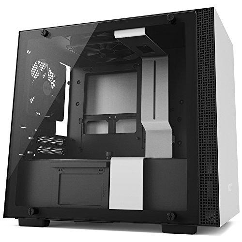 NZXT CA-H200B-W1 H200 ITX PC-Gehäuse, Weiß/Schwarz - Computer-system Mini-itx