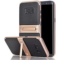 Galaxy S8 Plus Cover Funda, YHcase Híbrido caja de la armadura para el teléfono,resistente a prueba de golpes contra la lucha de viaje accesorios esenciales del teléfono per Samsung Galaxy S8 Plus -Rose Gold