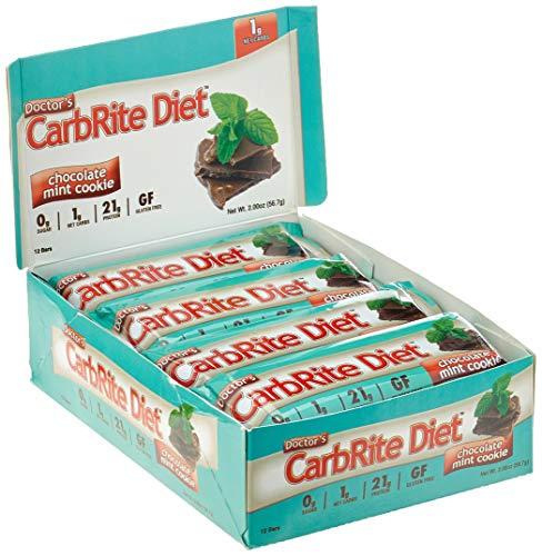 Universal Nutrition CarbRite Diet Bar Chocolate Mint Cookie 12 Stück -
