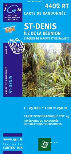 Descargar Libro Top25 4402RT ~ St Denis ~ Mafate carte de randonnée avec une règle graduée gratuite de IGN
