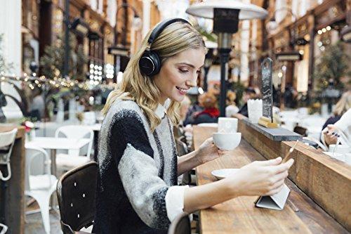 Audio-Technica ATH-SR5BTBK Kabelloser, Ohraufliegender High-Resolution Kopfhörer schwarz - 6