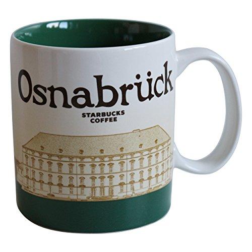 Starbucks City Mug Osnabrück Germany Icon Serie Coffee Cup Osnabrück