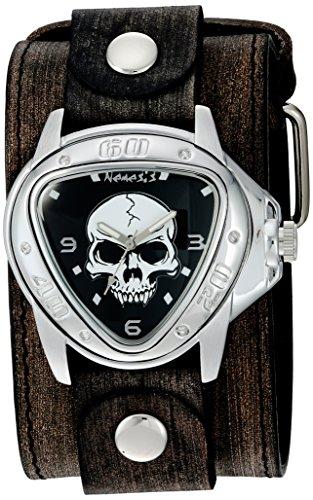 Nemesis Unisex-Adult Analogue Japanese-Quartz Watch with Patent Leather Strap FLBB936K