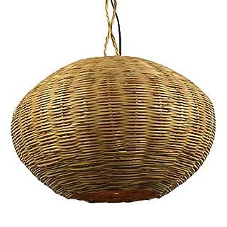 albena marokko galerie 13-184 Saba moroccan rattan lamp ø 50cm basket weave natur