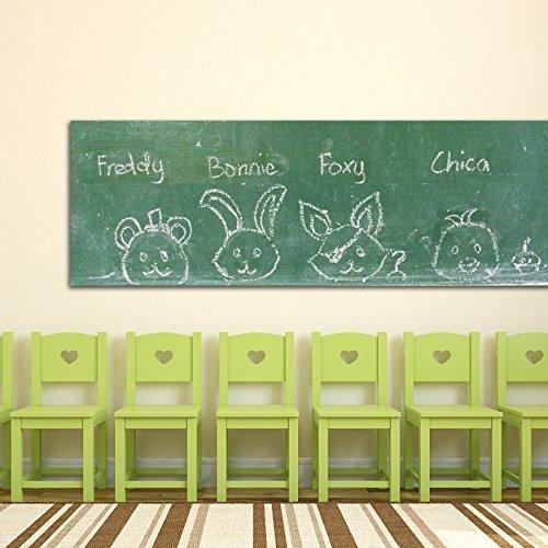 WALPLUS Greenboard Adesivi da Parete, Vinile, 90x 60x 4cm