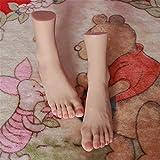 YH-foot Silikon Füße Modell, Neuer gefälschter Fuß des Silikonfuß-Modellmädchens, Schuhmodell, sexy weibliche Mannequinsilikonfüße für Modell -