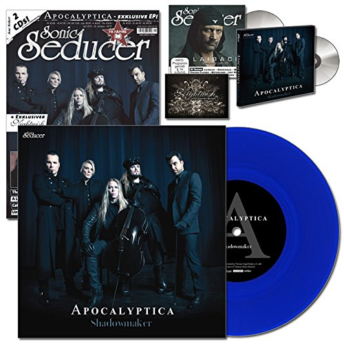 Sonic Seducer 04-2015 limited Edition mit Apocalyptica-Titelstory + exkl. coloured Vinyl zum Album Shadowmaker (499 Ex.) + 2 CDs, u.a. eine exkl. EP + exkl. Sticker von Nightwish u.v.m. [Vinyl LP]