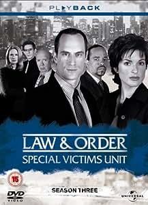 Law & Order: Special Victims Unit - Complete Season 3 (6 Disc Box Set) [DVD] [2001]
