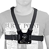 Chest Mount Harness Adjustable Body Strap Rig with Adjustment for GoPro Cameras
