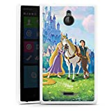 Nokia X2 Hülle Silikon Case Schutz Cover Disney Rapunzel ? Neu verföhnt Merchandise Geschenke