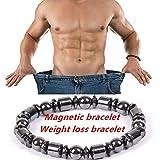 Hongch Magnet-Armband Unisex für Daily Gewichtsverlust Runden Stein Slimmy Gesundheitsvorsorge