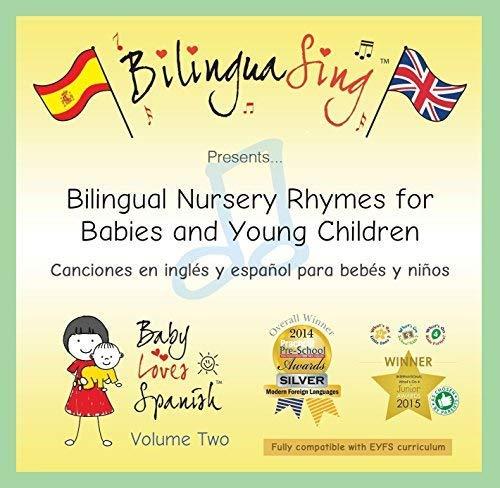 Canciones para bebés en inglés e español   CD para aprender el...