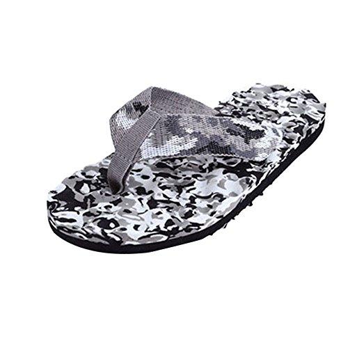 Fulltime® Hommes d'été Massage confortable Tongs Chaussures Sandales indoor & outdoor Slipper