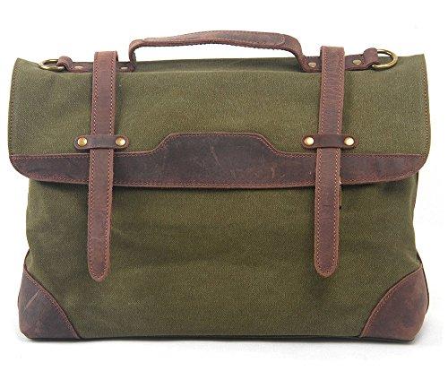 Everdoss Unisexe sac à main en toile sac de messager sac à bandoulière sac de business sac d'ordinateur portable