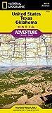 USA Texas & Oklahoma (National Geographic Adventure Travel Map North America)