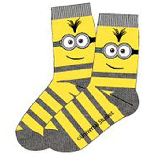 universal-studios-chaussettes-basses-garcon-jaune-jaune