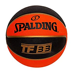 Spalding TF-33 Basketball Size-7 (Multicolor)