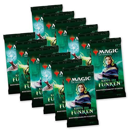 Magic the Gathering - Krieg der Funken - Boosters / Displays Auswahl   DEUTSCH   Sammelkartenspiel TCG, Booster:12er 12 Booster