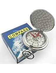 Kompass Portable Wasserdichte Wanderung Navigation Kompass mit Glühen in der Dunkelheit, ideal für Camping Wandern und andere Outdoor-Aktivitäten