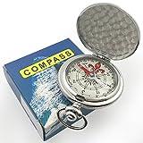 Kompass Portable Wasserdichte Wanderung Navigation Kompass mit Glühen in der