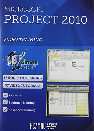 Microsoft Project 2010 Software Training Tutorials - 17 Hours (Microsoft Project 2010 Software)