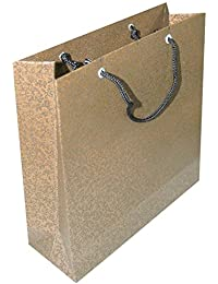 Authentics Hand Made Paper Bag Light Brown Colour Size 10 X 7 Inches Pack Of 10