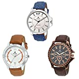 Flux Triple Combo MultiColor Dial Analog...