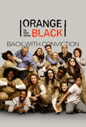 ORANGE is The New Black - U.S Movie Wall Art Poster Print - 43cm x 61cm / 17 Inches x 24 Inches A2 -