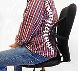 Lordosenstütze Rückenstütze Gewicht einstellbar für Stühle, Sessel, Sofa, Autositze etc.