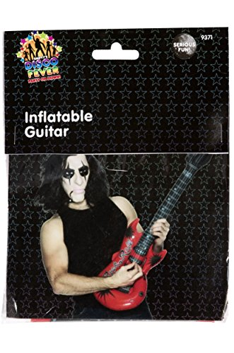 Smiffy's - Inflable Guitarra Hinchable, Multicolor (9371)
