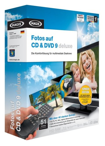 MAGIX Fotos auf CD & DVD 9 deluxe Sonderedition