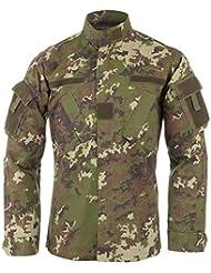 Teesar ACU Ripstop Combate Camisa vegetato Woodland tamaño L