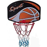 Basketball Backboard und Hoop Tragbarer Basketball Hoop und Stand Backboard Hoop Basketballnetz mit Pumpe 1.5m Yosoo Basketball Hoop Set Kinder