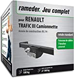 Rameder Pack attelage rotule Standard 2 Trous pour Renault TRAFIC III Camionnette +...