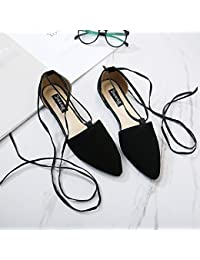 Xing Lin Sandalias De Mujer La Nueva Punta De Los Zapatos De Mujer Gruesas Correas Cruzadas Con Tacones Altos Cómodas Sandalias De Mareas, 39 Estándar Código Zapatos Deportivos, Negro
