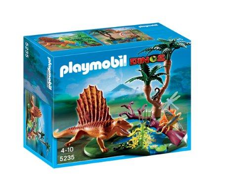 Playmobil 5235 - Dimetrodonte con pozza d'acqua