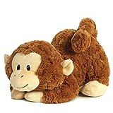 Aurora - Peluche Swinger a forma di scimmia, colore: marrone chiaro