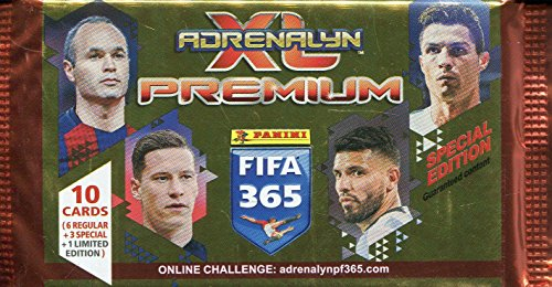 Adrenalyn XL FIFA365APP 2018 Premium Pack card Game