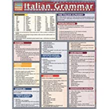Italian Grammar Laminate Reference Chart (Quickstudy Reference Guides - Academic)